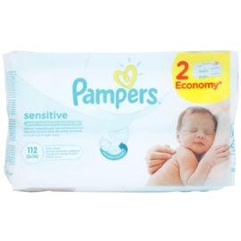 Pampers Sensitive tisztító törlőkendő  2 x 56 db