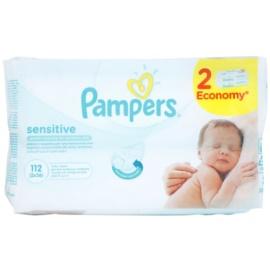 Pampers Sensitive čisticí ubrousky  2 x 56 ks