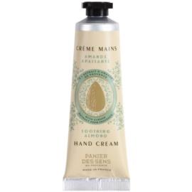 Panier des Sens Almond beruhigende Creme für die Hände  30 ml