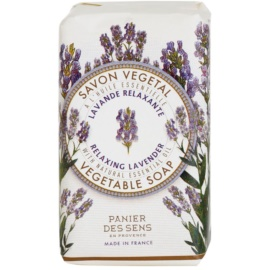 Panier des Sens Lavender entspannende pflanzliche Seife  150 g