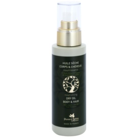 Panier des Sens Olive pflegendes Trockenöl für Gesicht, Körper und Haare  125 ml