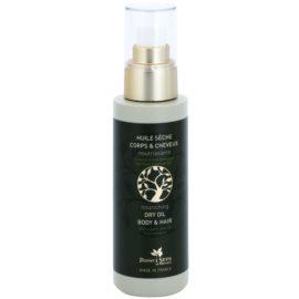 Panier des Sens Olive vyživující suchý olej na obličej, tělo a vlasy  125 ml