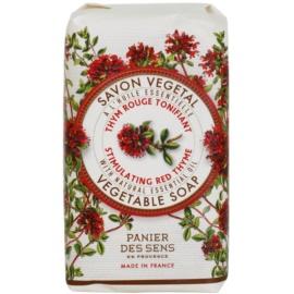 Panier des Sens Red Thyme povzbuzující rostlinné mýdlo  150 g