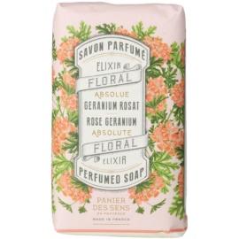 Panier des Sens Rose Geranium tuhé mýdlo  150 g