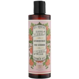 Panier des Sens Rose Geranium sprchový gél  250 ml
