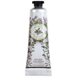 Panier des Sens Verbena Energie-Creme für die Hände  30 ml