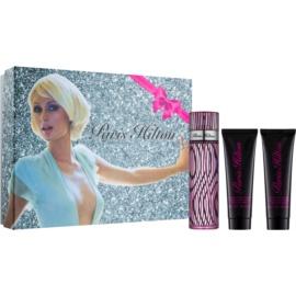 Paris Hilton Paris Hilton darilni set VIII.  krema za prhanje in kopanje 90 ml + parfumska voda 100 ml + bleščeče mleko za telo 90 ml