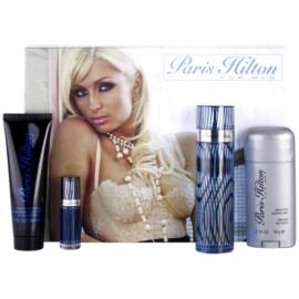 Paris Hilton Paris Hilton for Men dárková sada I. toaletní voda 100 ml + deostick 78 g + sprchový gel 90 ml + toaletní voda 7,5 ml