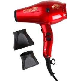Parlux 385 Power Light Ionic & Ceramic fén na vlasy Red