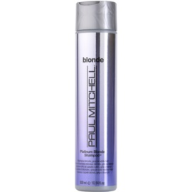 Paul Mitchell Blonde Platinum Blonde šampon pro blond a šedivé vlasy  300 ml