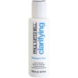 Paul Mitchell Clarifying Two hloubkově čisticí šampon pro mastné vlasy  100 ml
