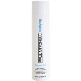 Paul Mitchell Clarifying Two hloubkově čisticí šampon pro mastné vlasy  300 ml