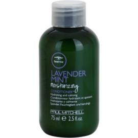 Paul Mitchell Tea Tree Lavender Mint hydratační a zklidňující kondicionér pro suché a nepoddajné vlasy  75 ml