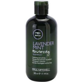 Paul Mitchell Tea Tree Lavender Mint hydratační a zklidňující šampon pro suché a nepoddajné vlasy  300 ml