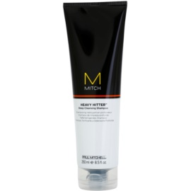 Paul Mitchell Mitch Heavy Hitter hloubkově čisticí šampon  250 ml
