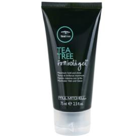 Paul Mitchell Tea Tree gel na vlasy silné zpevnění  75 ml
