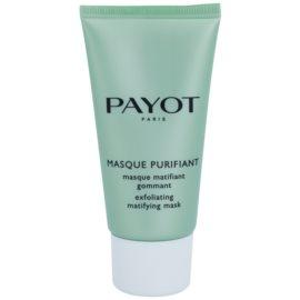 Payot Expert Pureté čisticí peelingová pleťová maska pro smíšenou a mastnou pleť  50 ml
