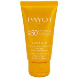 Payot Sun Sensi защитен крем за лице против стареене за нетолерантна кожа SPF 50+  50 мл.