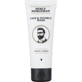 Percy Nobleman Face & Stubble Reinigungsgel  für Gesicht und Bart  75 ml