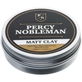 Percy Nobleman Hair matirajoči vosek za lase z ilovico  100 ml