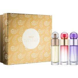 Perry Ellis 360° Geschenkset II. Eau de Parfum 30 ml + Eau de Parfum 30 ml + Eau de Parfum 30 ml