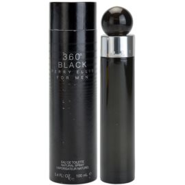 Perry Ellis 360° Black eau de toilette férfiaknak 100 ml