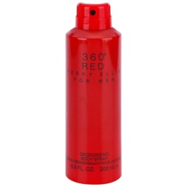 Perry Ellis 360° Red spray pentru corp pentru barbati 200 ml