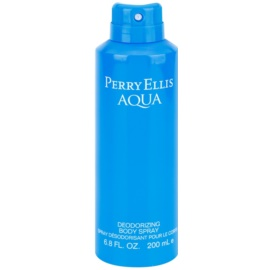 Perry Ellis Aqua spray corporal para hombre 200 ml