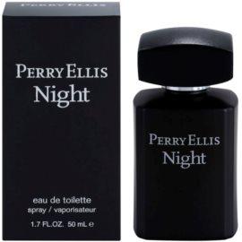Perry Ellis Night Eau de Toilette für Herren 50 ml