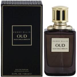 Perry Ellis Oud Black Vanilla Absolute Eau de Parfum Unisex 100 ml