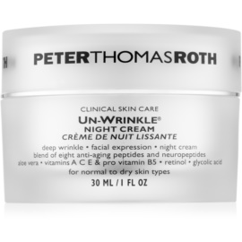 Peter Thomas Roth Un-Wrinkle crema antiarrugas de noche  30 ml