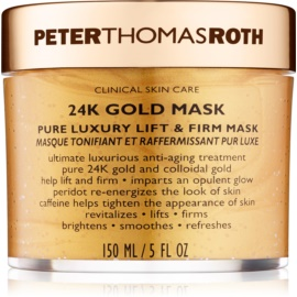 Peter Thomas Roth 24K Gold mascarilla facial reafirmante de lujo con efecto lifting  150 ml