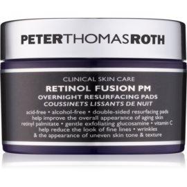 Peter Thomas Roth Retinol Fusion PM Gesichtsnachtpads gegen Falten  30 St.