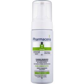 Pharmaceris T-Zone Oily Skin Puri-Sebostatic čisticí pěna pro pleť vysušenou a podrážděnou léčbou akné  150 ml