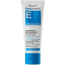 Pharmaceris E-Emotopic schützende Creme für zarte Haut Für Gesicht und Körper  75 ml