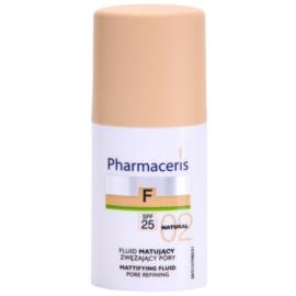 Pharmaceris F-Fluid Foundation matující fluidní make-up SPF 25 odstín 02 Natural  30 ml
