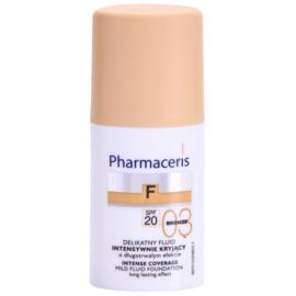 Pharmaceris F-Fluid Foundation intenzivni prekrivni tekoči puder z dolgoobstojnim učinkom SPF 20 odtenek 03 Bronze  30 ml