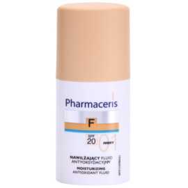 Pharmaceris F-Fluid Foundation hydratační make-up SPF 20 odstín 01 Ivory  30 ml