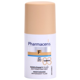 Pharmaceris F-Fluid Foundation hydratační make-up SPF 20 odstín 03 Tanned  30 ml