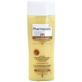 Pharmaceris H-Hair and Scalp H-Nutrimelin champô regenerador para cabelo seco a danificado  250 ml