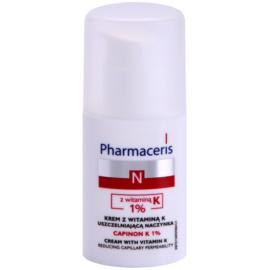Pharmaceris N-Neocapillaries Capinion K 1% stärkende Creme für geplatzte Äderchen für eine schnellere Regeneration  30 ml