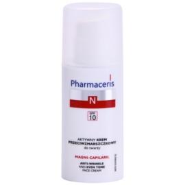 Pharmaceris N-Neocapillaries Magni-Capilaril crema nutritiva antiarrugas  SPF 10  50 ml