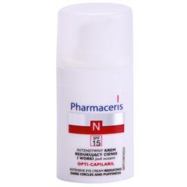 Pharmaceris N-Neocapillaries Opti-Capilaril oční omlazující krém proti otokům a tmavým kruhům SPF 15  15 ml