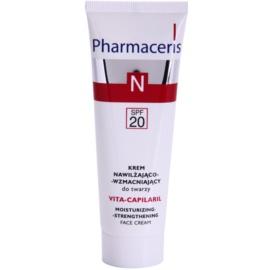 Pharmaceris N-Neocapillaries Vita-Capilaril hydratační a posilňující pleťový krém pro citlivou pleť se sklonem ke zčervenání SPF 20 50 ml