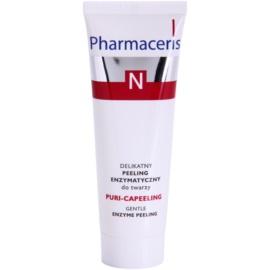 Pharmaceris N-Neocapillaries Puri-Capeeling exfoliante enzimático para redensificar la piel  50 ml