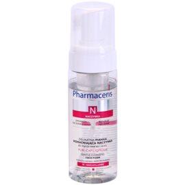 Pharmaceris N-Neocapillaries Puri-Capiliqmousse Reinigungsschaum zum Abschminken für geweitete und geplatzte Venen  150 ml