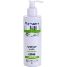 Pharmaceris T-Zone Oily Skin Puri-Sebogel antibakteriální čisticí gel pro problematickou pleť, akné  190 ml