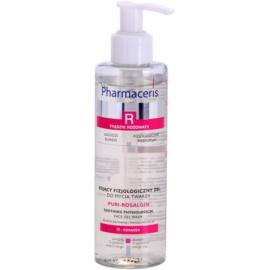 Pharmaceris R-Rosacea Puri-Rosalgin zklidňující čisticí gel pro citlivou pleť se sklonem ke zčervenání  190 ml