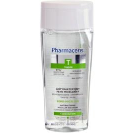 Pharmaceris T-Zone Oily Skin Sebo-Micellar Mizellar-Reinigungswasser für problematische Haut, Akne  200 ml