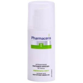 Pharmaceris T-Zone Oily Skin Sebostatic Matt mattító emulzió az aknéra hajlamos zsíros bőrre  50 ml